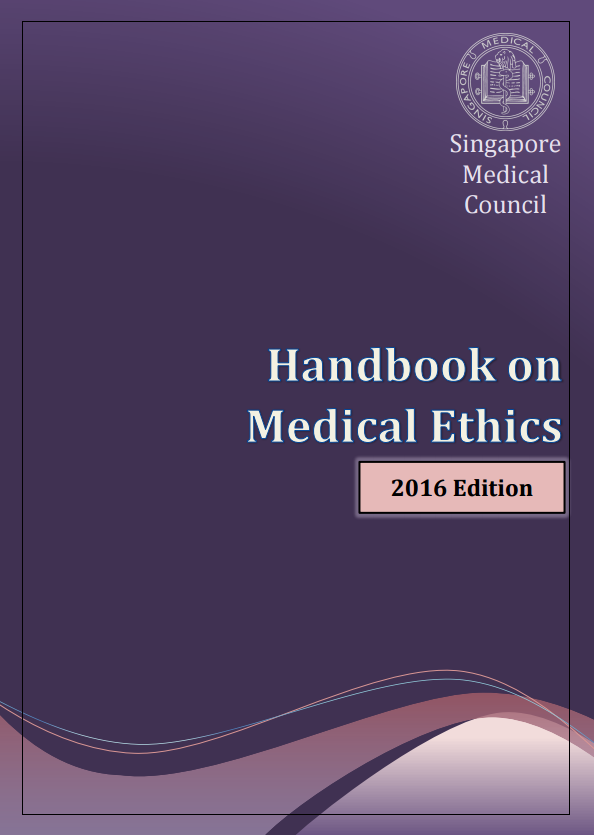Handbook on Medical Ethics